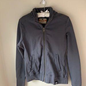 American Giant Gray Zip Up Jacket. Sz : Medium